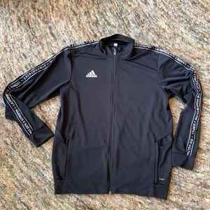 Adidas Climalite track jacket size large